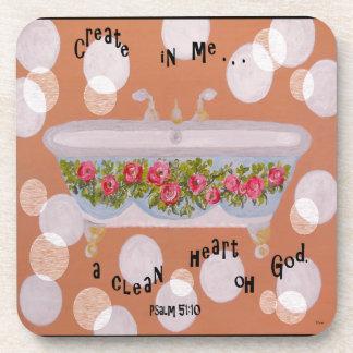 A Clean Heart Coaster