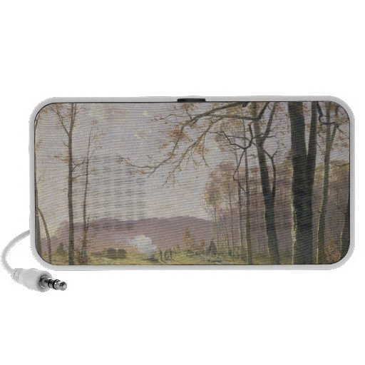 A Clearing in an Autumnal Wood, 1890 Travel Speaker