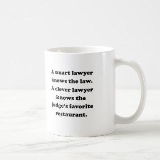 A Clever Lawyer Basic White Mug
