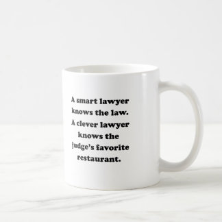 A Clever Lawyer Coffee Mug