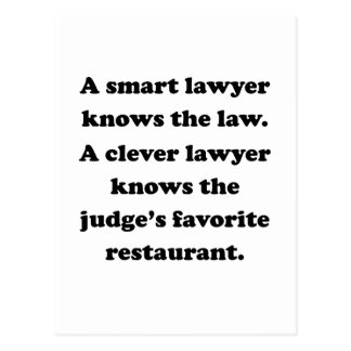 A Clever Lawyer Postcards