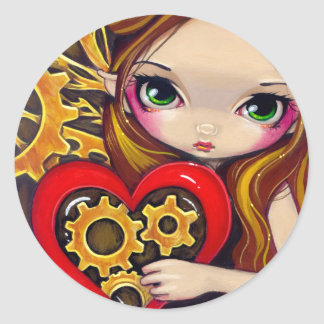 """""""A Clockwork Valentine"""" Sticker"""