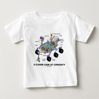 A Closer Look At Curiosity (NASA Martian Rover) Baby T-Shirt