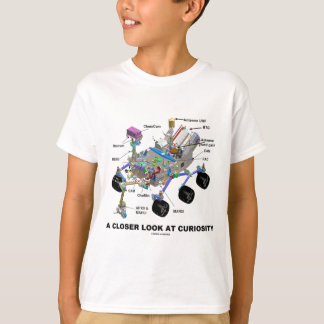 A Closer Look At Curiosity (NASA Martian Rover) T-Shirt