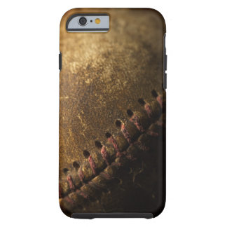 A closeup of an old baseball. Shot with shallow Tough iPhone 6 Case