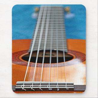 A Closeup of Guitar Strings Mouse Pad