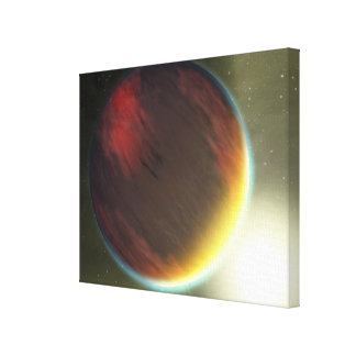 A cloudy Jupiter-like planet that orbits Canvas Print