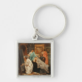 A Collector of Pictures at the Time of Augustus 1 Key Chain