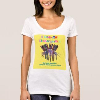A Color Kindergarten T-Shirt (Womens)