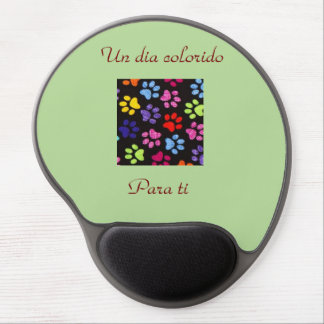 A colorful day for you gel mouse pad