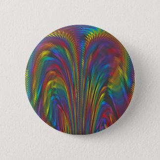 A Colorful Eruption 6 Cm Round Badge