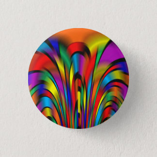 A Colorful Integration 3 Cm Round Badge