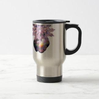 A colorful teardrop ring coffee mug