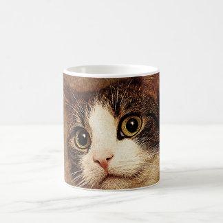 A common cat coffee mug