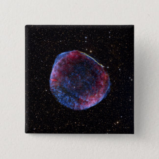 A composite image of the SN 1006 supernova remn 15 Cm Square Badge