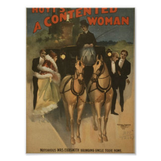 A Contented Woman Posters