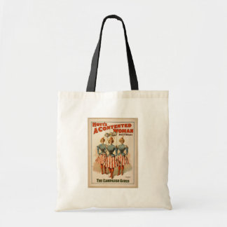 A Contented Woman, 'The Campaign Girls' Retro Thea Tote Bag
