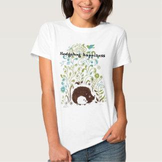 a cool hedgehog print, Hedgehog happiness Tees
