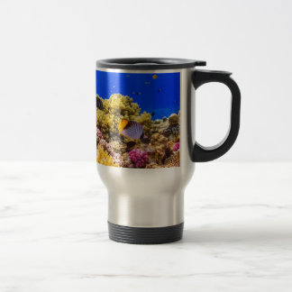 A Coral Reef in the Red Sea near Egypt Travel Mug