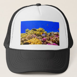 A Coral Reef in the Red Sea near Egypt Trucker Hat