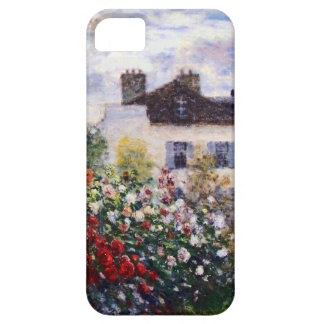A Corner of the Garden with Dahlias by Monet iPhone 5 Cover