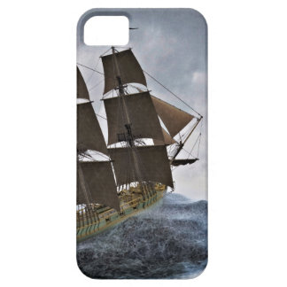 A Corvette Sailing Ship in a Storm iPhone 5 Cover