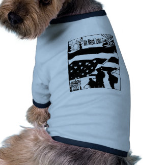 A Country In Trouble Pet Tshirt