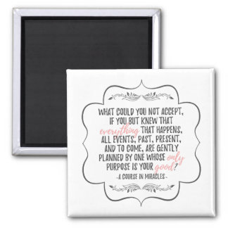A Course in Miracles Inspirational Quote Magnet