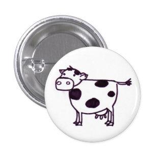 A Cow 3 Cm Round Badge