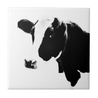 A Cow Is a Milk Container Ceramic Tile