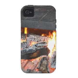 A Crackling Fire Vibe iPhone 4 Case