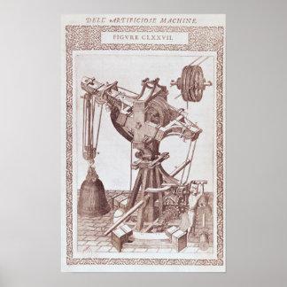 A Crane Poster