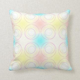 A Crop of Circles Cushion