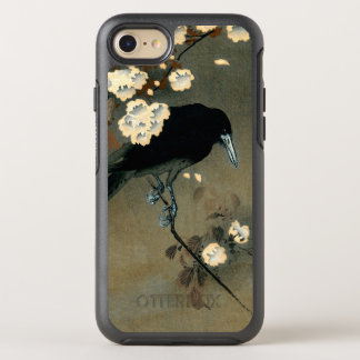 A Crow and Blossom by Ohara Koson Vintage OtterBox Symmetry iPhone 8/7 Case
