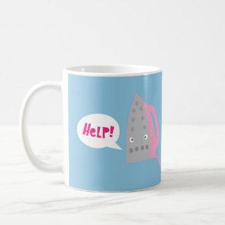 A cry for help coffee mug