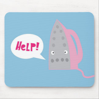 A cry for help mouse pad