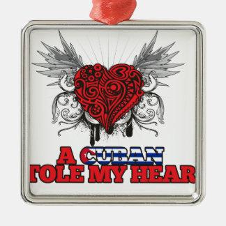 A Cuban Stole my Heart Ornament