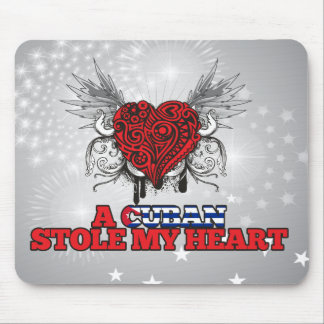 A Cuban Stole my Heart Mouse Pad
