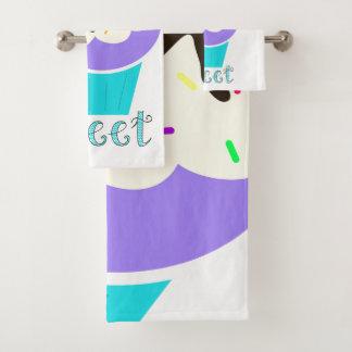 A Cup Full of Sweetness Bath Towel Set