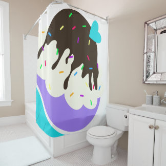 A Cup Full of Sweetness Shower Curtain