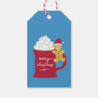 A Cup of Merry Christmas Gift Tags
