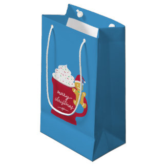 A Cup of Merry Christmas Small Gift Bag