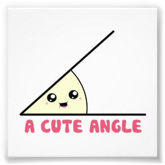 A Cute Acute Angle Photographic Print