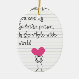A cute and quirky doodle for mums. ceramic oval decoration