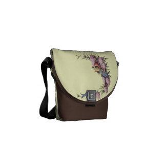 A Cute Birdhouse Messenger Bag