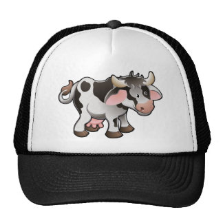A Cute Dairy Cow Hats