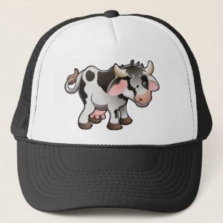 A Cute Dairy Cow Trucker Hat