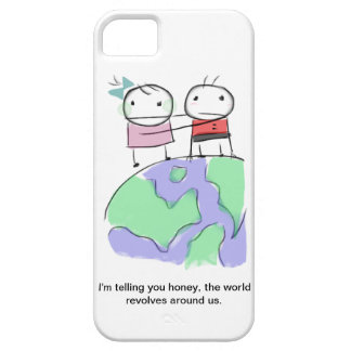 A cute earth-loving doodle by Monsterize iPhone 5 Covers