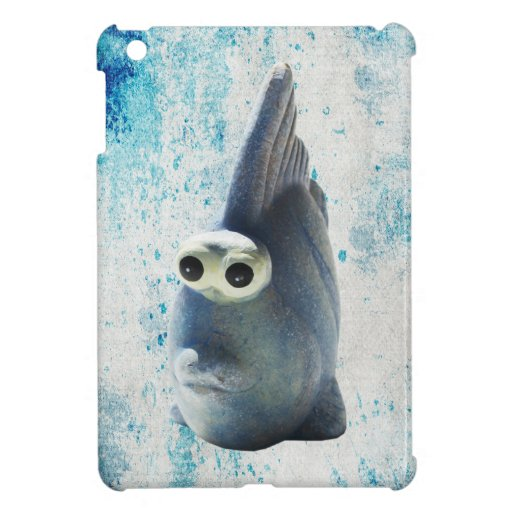 A Cute Funny Fish With Big Eyes Case For The iPad Mini