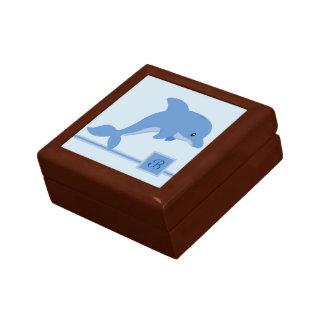 A Cute Happy Dolphin Gift Box